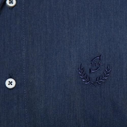 Chemise détails carreaux