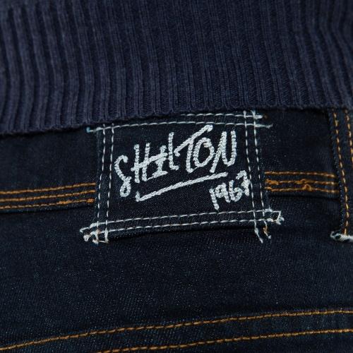 Jean double poche dos