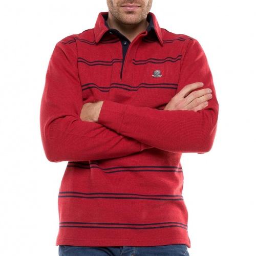 Polo Jersey Rayé