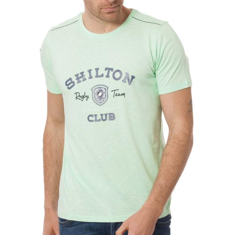 f3f622890f6af T-shirt club vert, t shirt rugby | Shilton