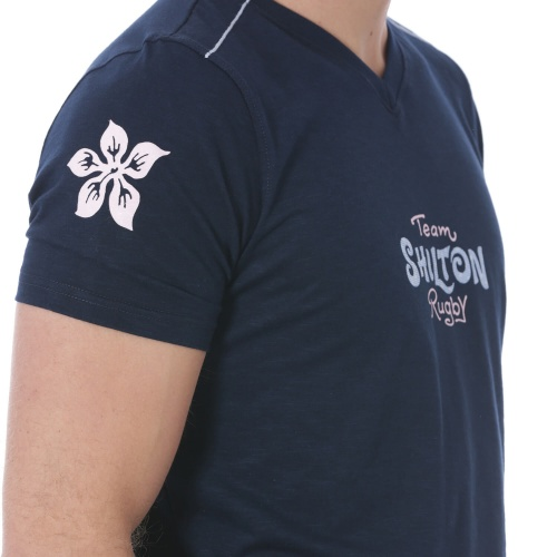 T-shirt Rugby Flower 18