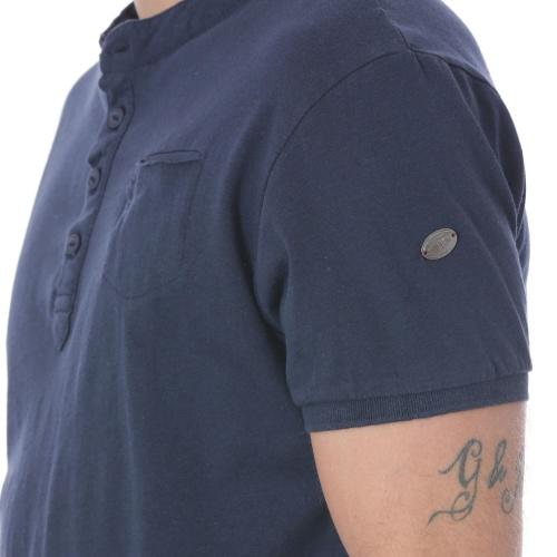 T-Shirt col Tunisien poche