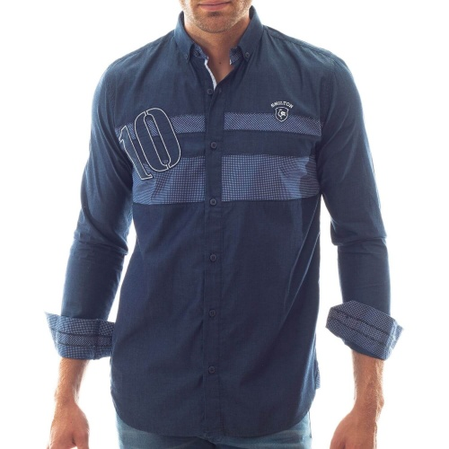 Chemise ML Rugby 10