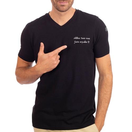 """T-shirt """"Allez tous vous faire enculer"""""""