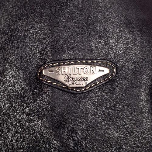 Blouson en cuir 7 poches