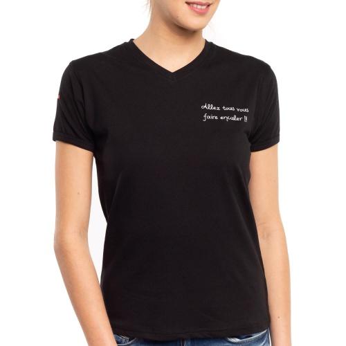 """T-shirt Bigard """"Allez tous vous faire enculer"""""""