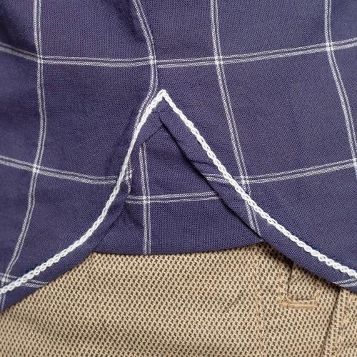 Chemise carreaux flag