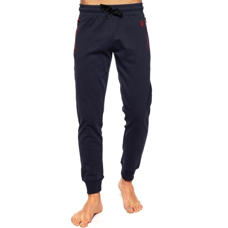 Pantalon de sport zippé Navy sur Shilton : le vêtement Rugby