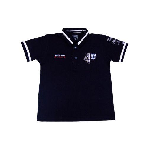 Polo de rugby des Nations enfant esprit vintage