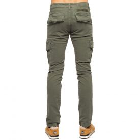 Pantalon cargo stretch