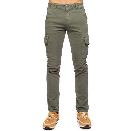 Pantalon cargo stretch