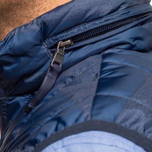 Doudoune sans manche bicolore