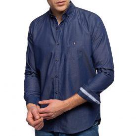 Chemise poche aspect jean