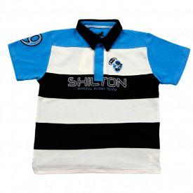 Polo avec bandes pour enfant Rugby team