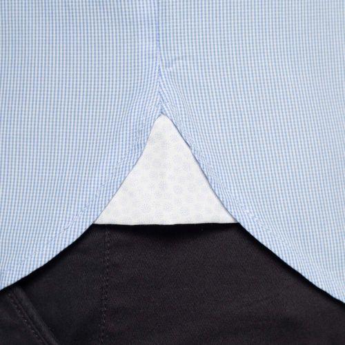 Chemise basique petits carreaux