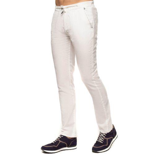 Pantalon coton lin