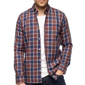 Chemise à carreaux class67