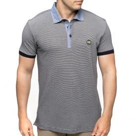 Polo col chambray