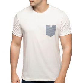 T-shirt poche fantaisie
