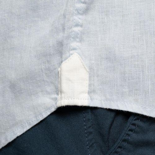 Chemise en lin pocket