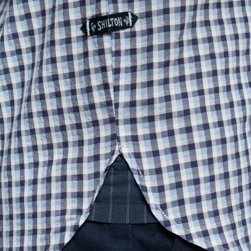 Chemise poche brodée