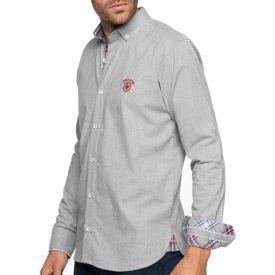 Chemise à carreaux fondus