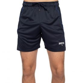 Short de sport zippé