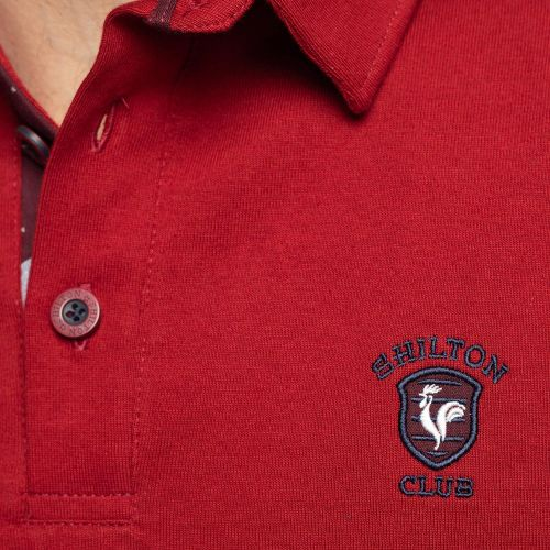 Coq broderie rugby