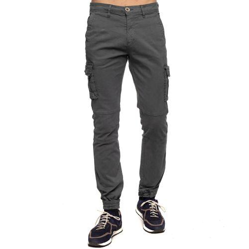 Pantalon cargo smocké
