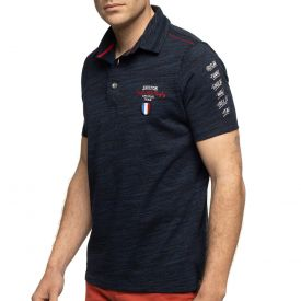 Polo rugby hémisphère nord navy