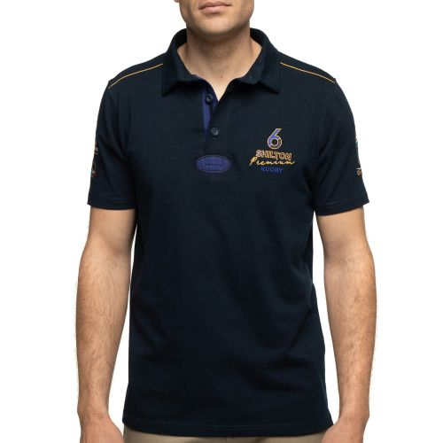 Polo rugby 6 nations navy
