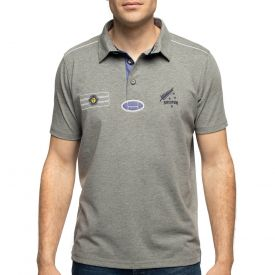 Polo gris rugby south vintage