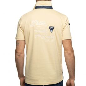 Polo beige world rugby
