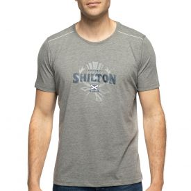 T-shirt rugby scotland gris
