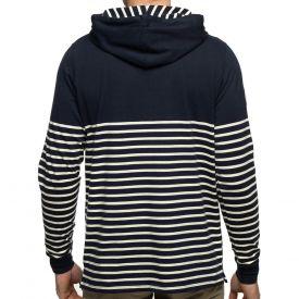 T-shirt navy apuche marinière