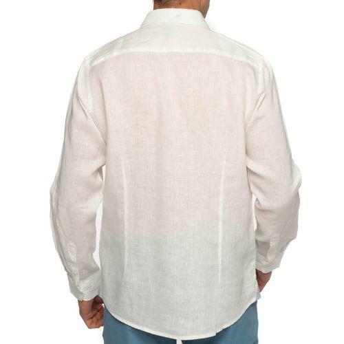 Derrière chemise lin