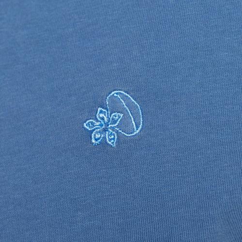 Tshirt rugby flower