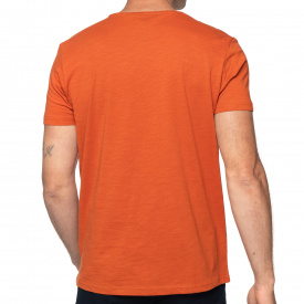 T-shirt col rond pocket