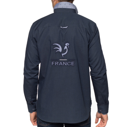 Chemise rugby nations coq