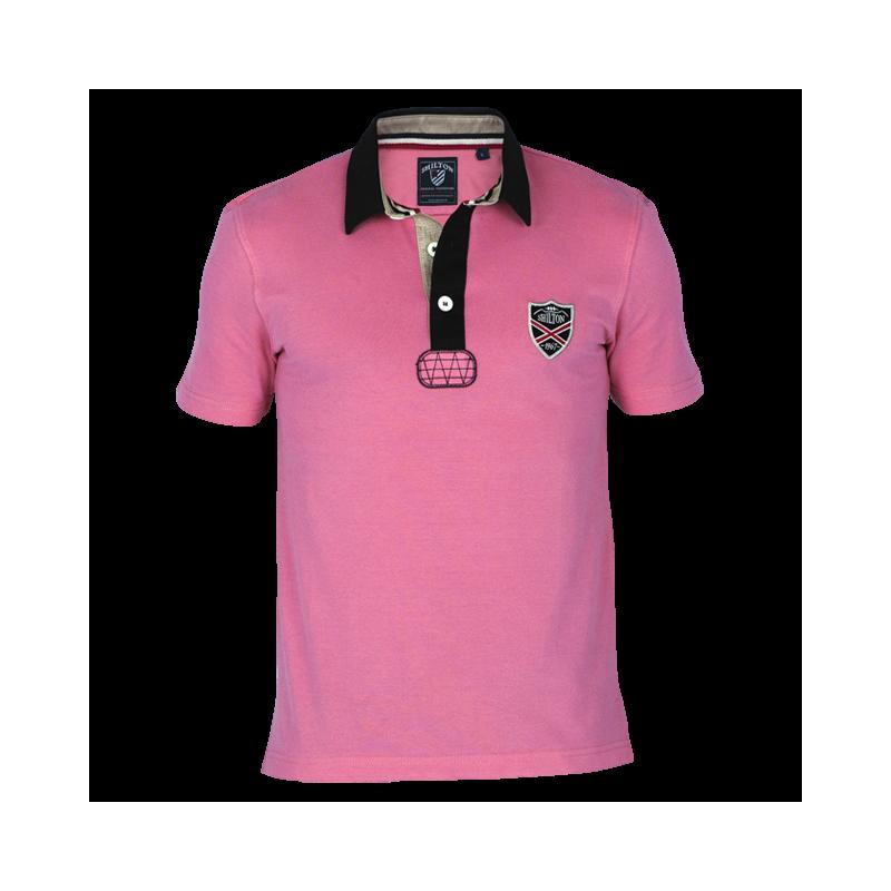 Polo au style Blason suivant les codes rugbystiques 0e6619d1784
