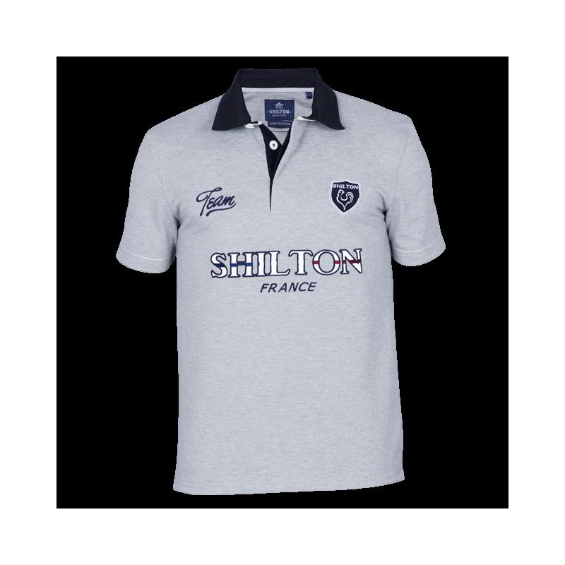 Polo de rugby de la Team France Shilton. Loading zoom 44617d50eb7