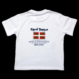 Tshirt pour enfant esprit basque
