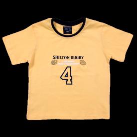 Coloris jaune t-shirt 4 Nations