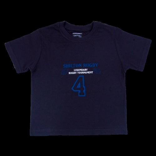 T-shirt bleu marine devant