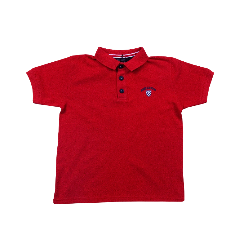 79d874baf3753 Polo basique Maille piquée pour Enfant