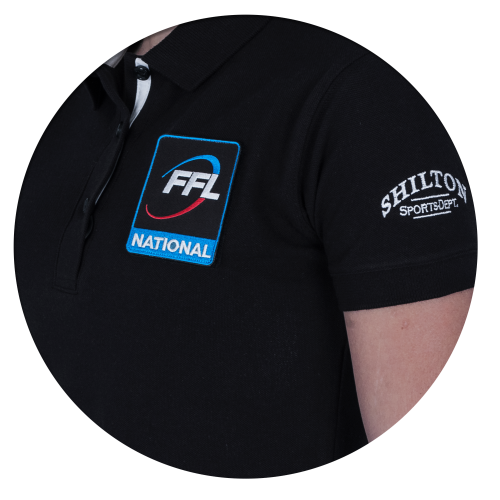 Polo sans patch FFL Arbitre Régional