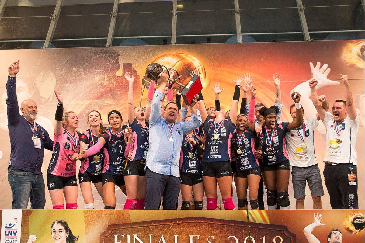Les Béziers Angels championnes de France !