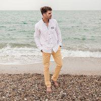 Sur la plage abandonnée, coquillages et crustacés 🐚🎶 #mode #plage #totallook